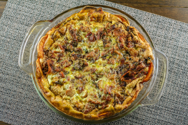 Sweet Potato Quiche