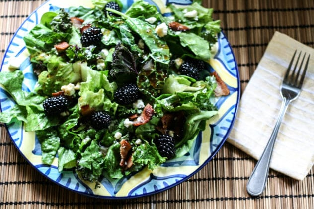 blackberry summer salad