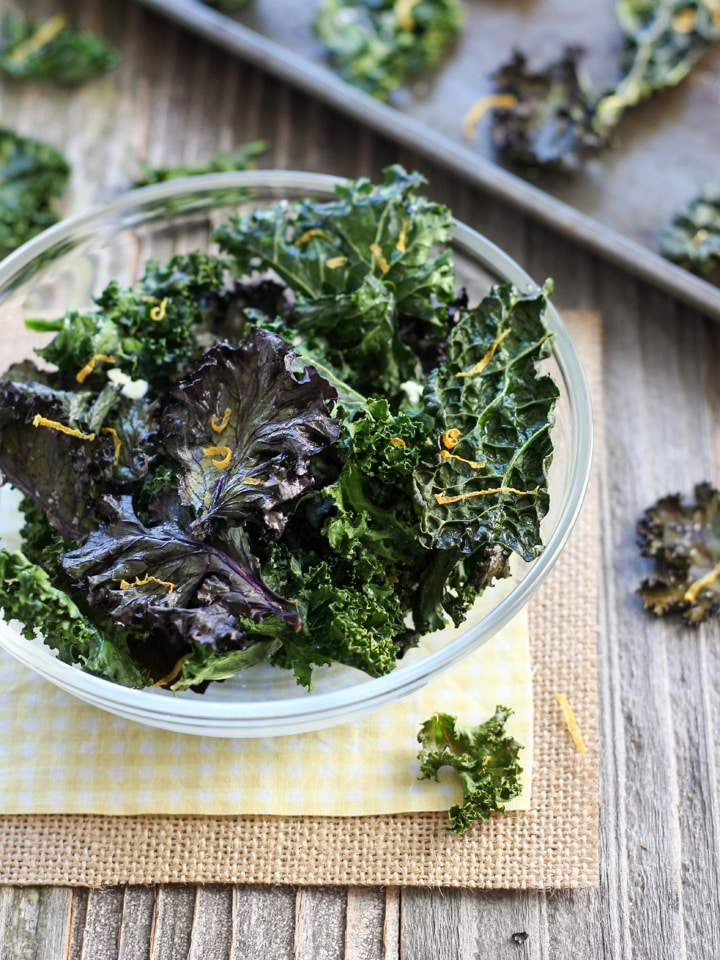 Toaster Oven kale Chips