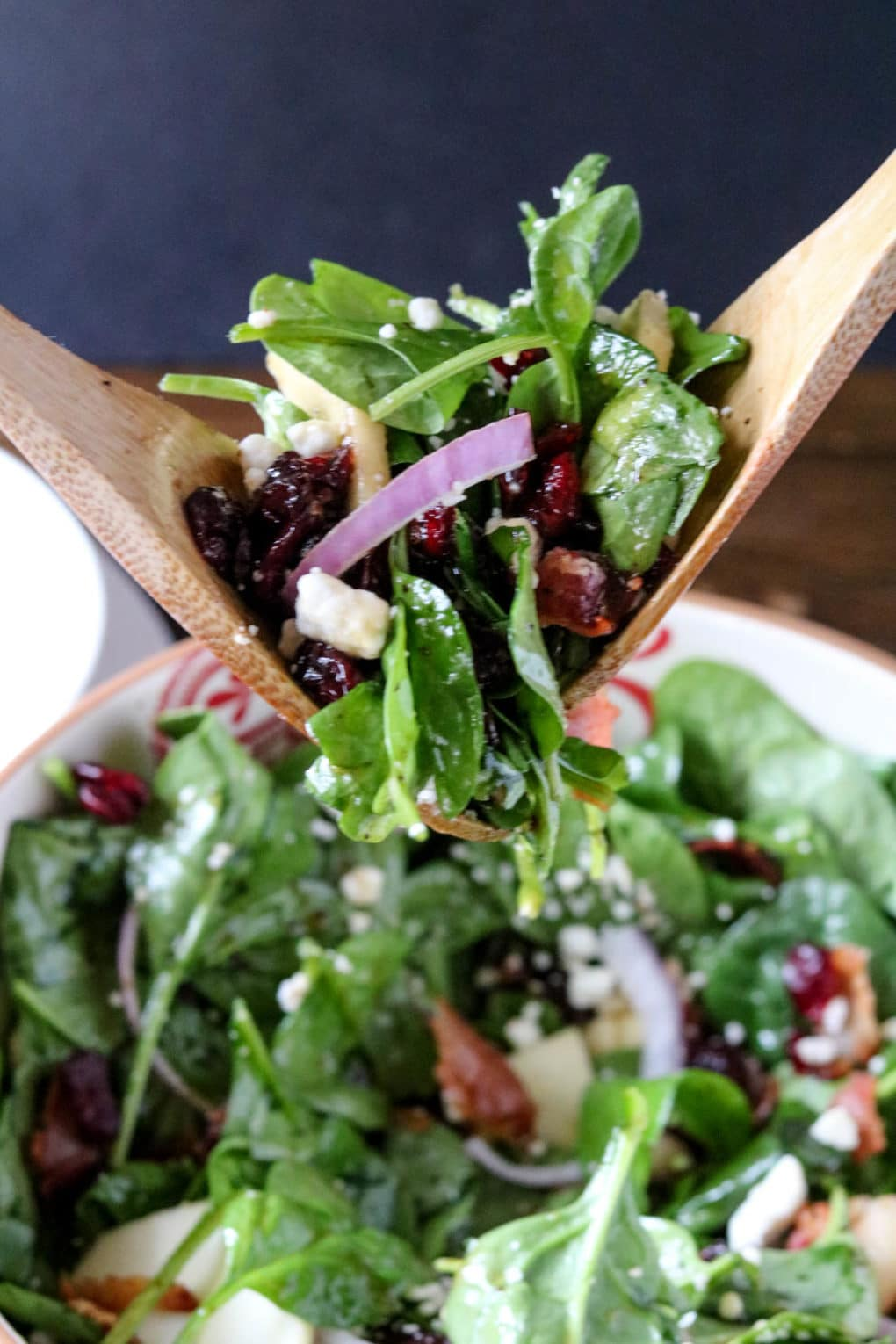 apple-cranberry-spinach-salad