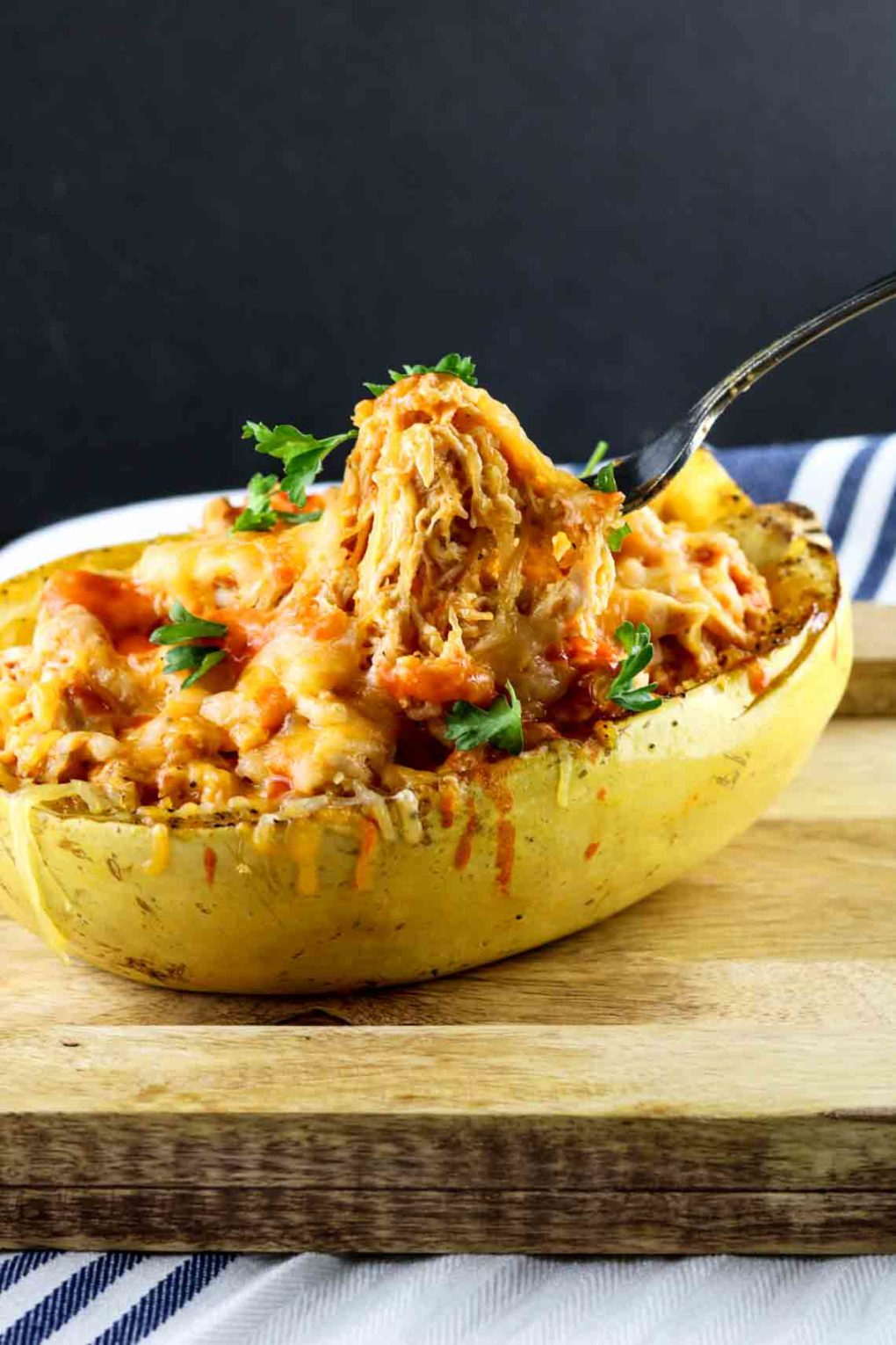 buffalo-chicken-spaghetti-squash