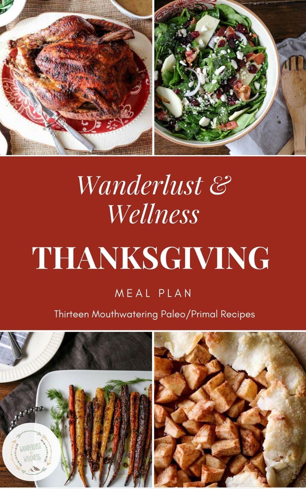 Wanderlust and Wellness Thanksgiving Meal Plan