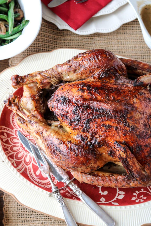 Thanksgiving Maple Herb Turkey