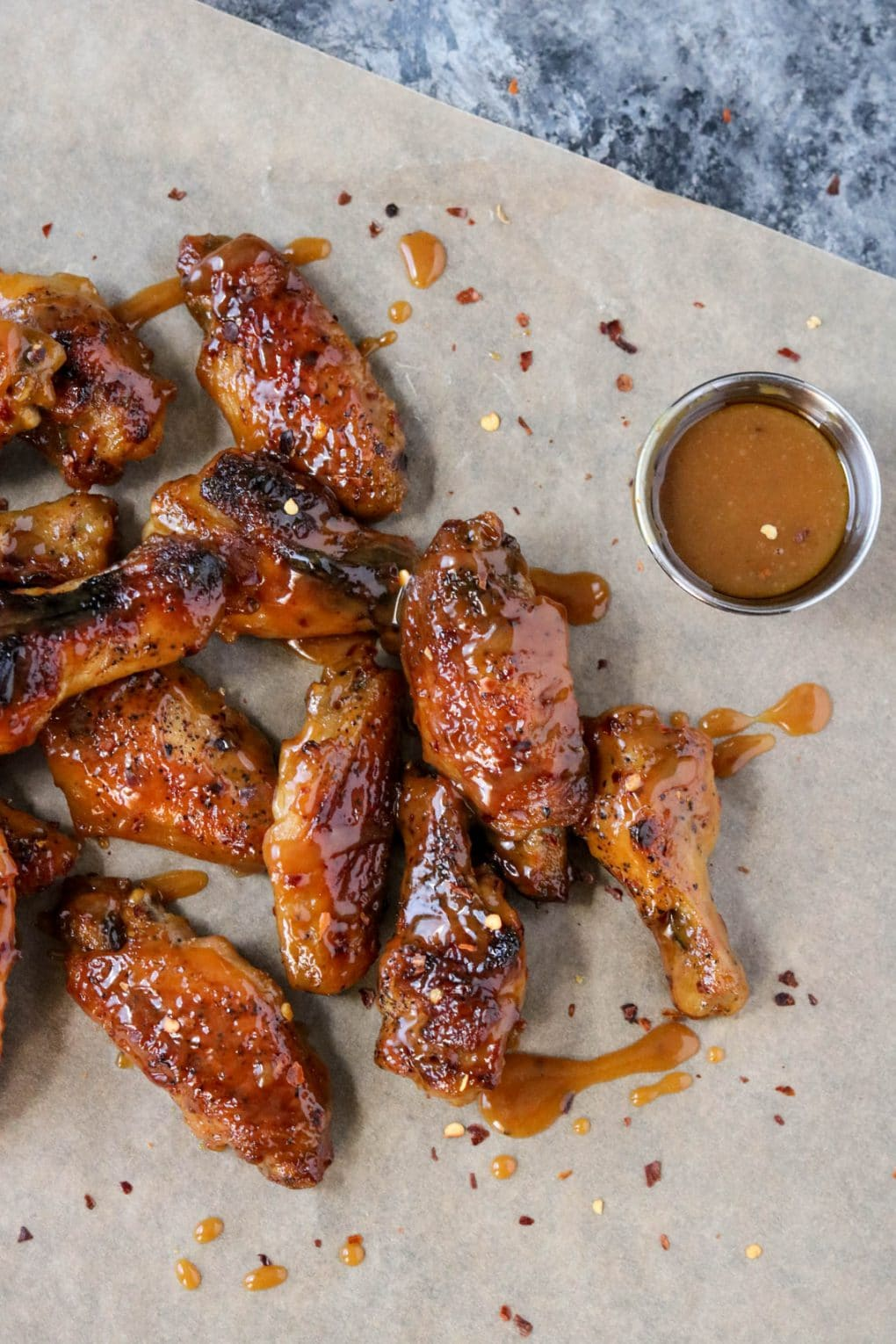Hot Honey Mustard Wings